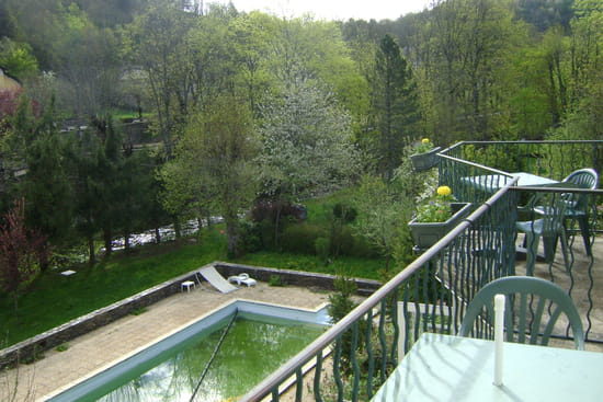 Hotel du Pont  - les chambres sur le parc -