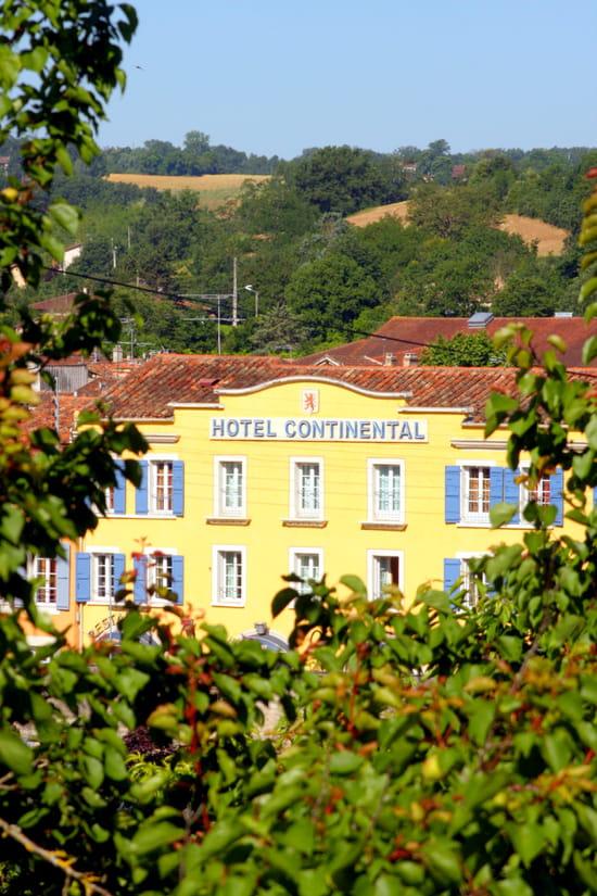 Hôtel*** Restaurant Le Continental