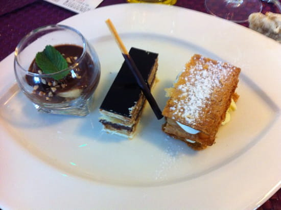 , Dessert : Hotel-Restaurant Le Saint-Pierre