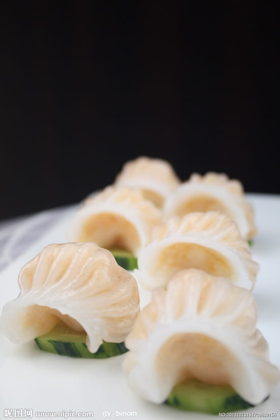 Huatian Chinagora  - Ha-Kao,raviolis vapeur aux crevettes -