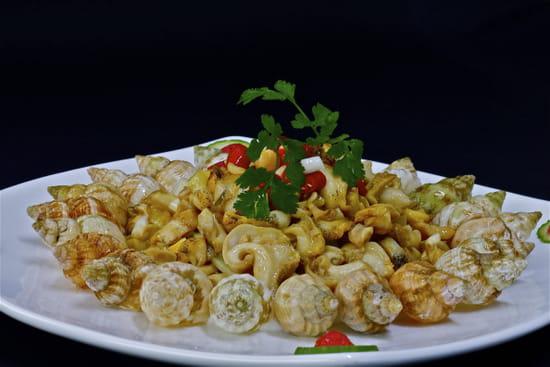 Huatian Chinagora  - Bulots au gingembre mijotés -