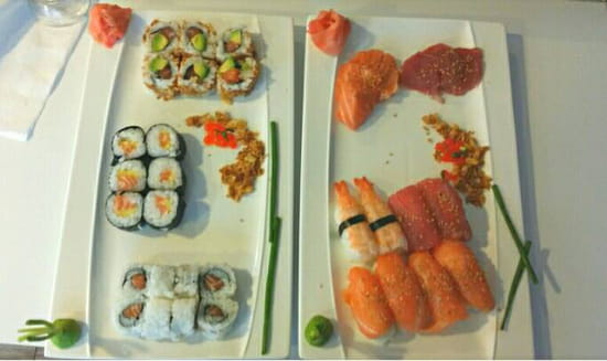 , Plat : Ici Sushi Lounge  - Ici love -