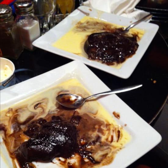 , Dessert : Indiana café