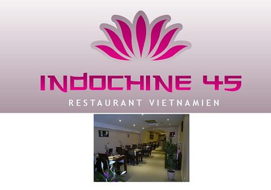 Indochine 45  - Restaurant vietnamien -