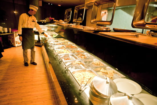 Ito  - buffet et wok au rdc -
