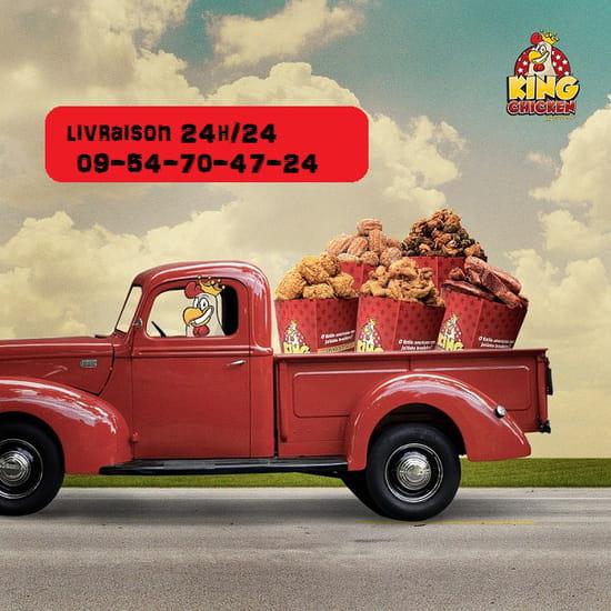 King Chicken Paris livraison