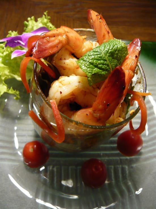 Kinnari  - Verrine de crevettes -