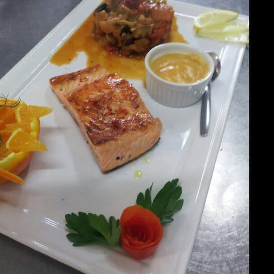, Restaurant : L'Adresse  - Saumon -