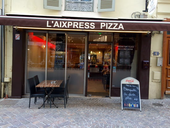L'Aixpress Pizza  - Enseigne  -