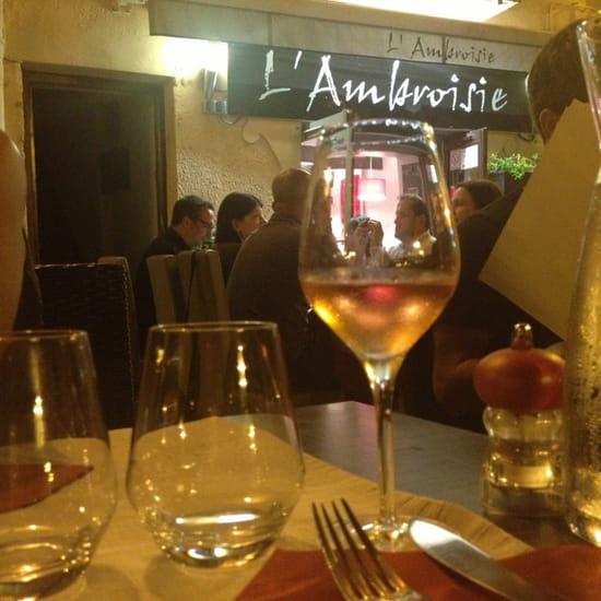 , Restaurant : L'Ambroisie