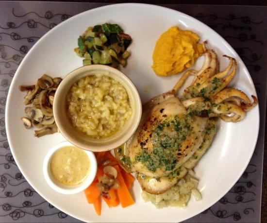 , Plat : L'Anse aux Moines  - morgate poele beurre persille -