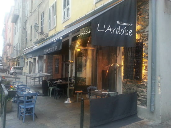 , Restaurant : L'Ardoise