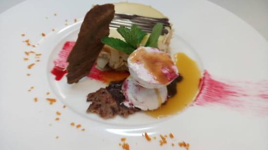 , Dessert : L'Ardoise du XV