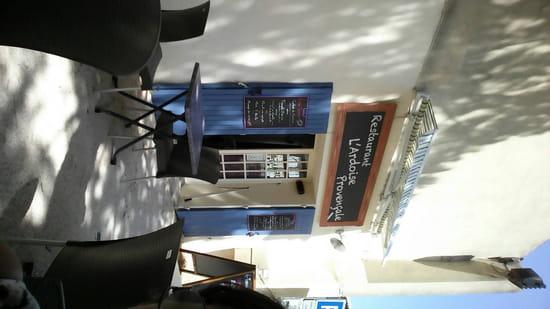 , Restaurant : L'Ardoise Provençale