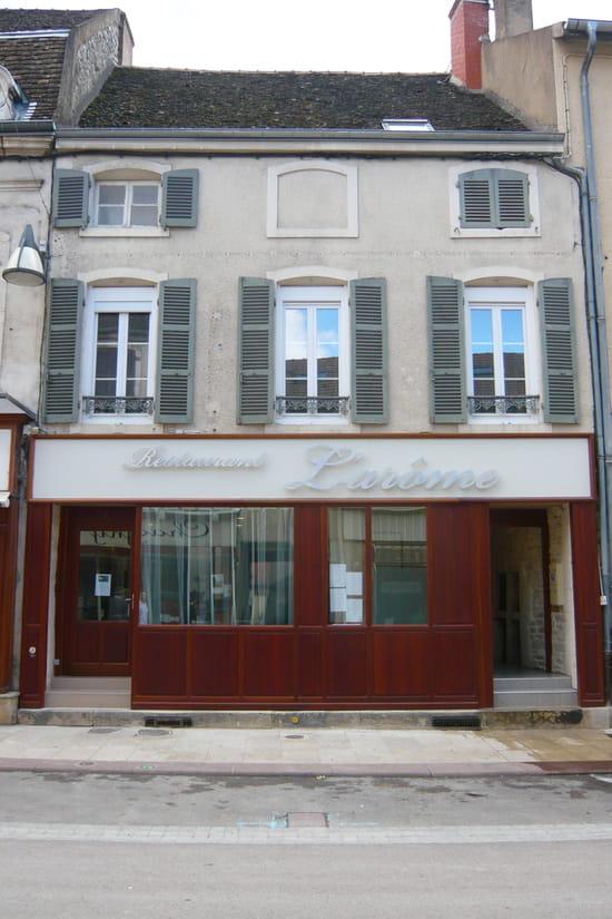 L'Arôme  - Façade du restaurant l'Arôme à Chagny -   © Restaurant l'Arôme