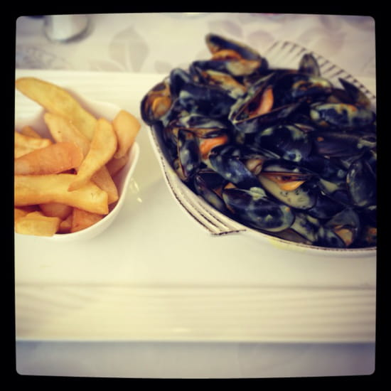 , Plat : L'Artimon  - Moules au curry -