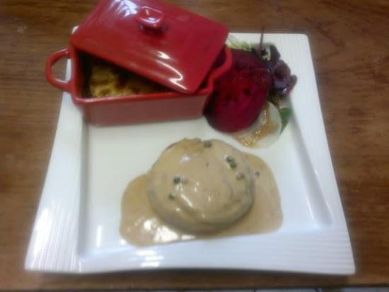 L'Assiette de Juliette  - tournedos de canard aux poivres -