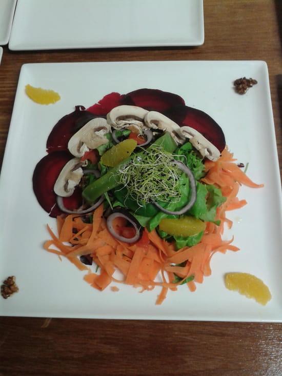 L'Assiette de Juliette  - salade végétarienne -