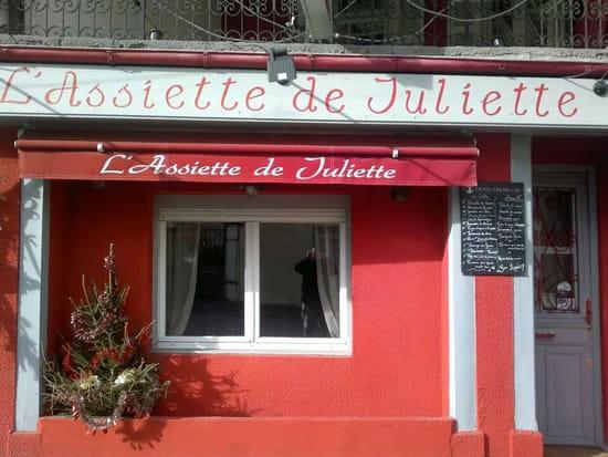 L'Assiette de Juliette  - façade du restaurant -