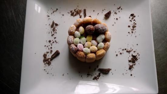 L'Assiette de Juliette  - charlotte au chocolat oeufs de paques -