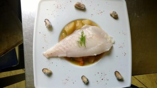 L'Assiette de Juliette  - filet de turbot bouillon de légumes à l'anis -