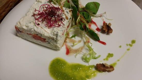 L'Assiette de Juliette  - Saumon ricotta agrumes et wasabi -