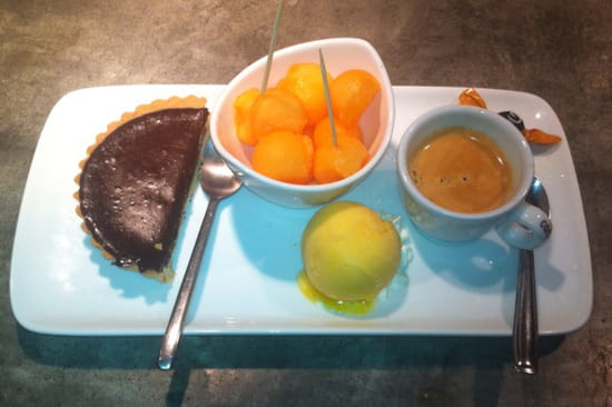 , Dessert : L'Atelier Côté Rhône