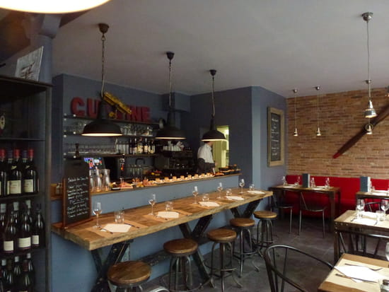 L'Atelier Nieuport  - Bar du restaurant -   © Daphné