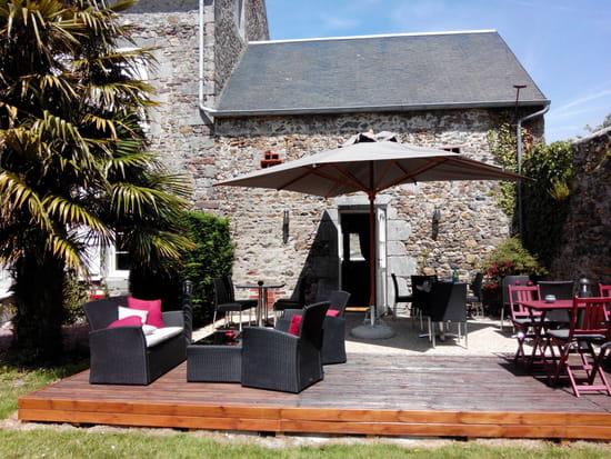 , Restaurant : L'Athome  - Terrasse -
