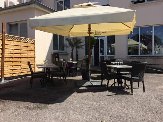 , Restaurant : L'Auberge du Diabl'o Thym  - Terrasse -