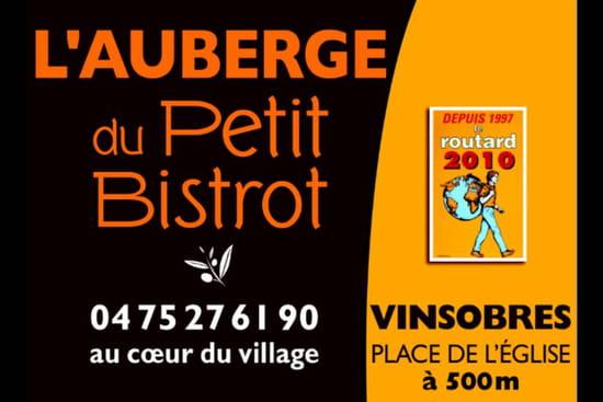 , Restaurant : L'Auberge du Petit Bistrot