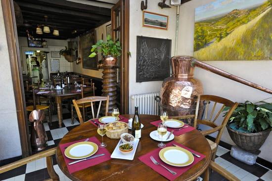 L'Auberge Joseph Mellot  - terrasse intérieure  -