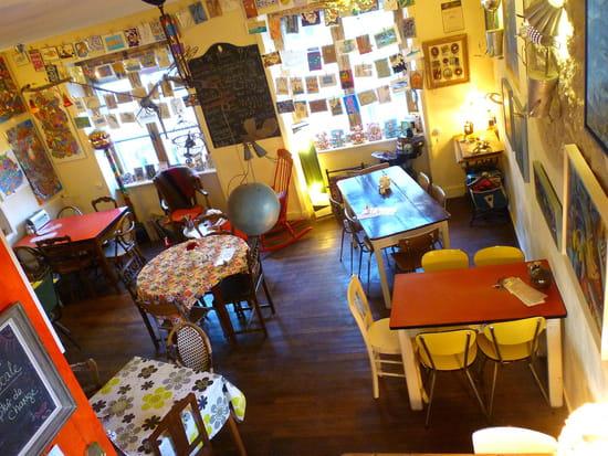 L'Effet Papillon  - Restaurant à l'étage -   © L'Effet papillon