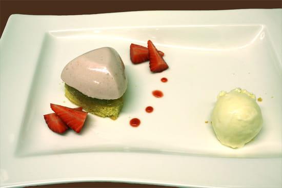 L'Emulsion  - Douceur fraises rhubarbe -   © B Gauthier