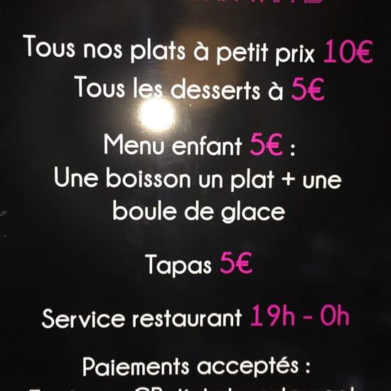, Restaurant : L'Endroit