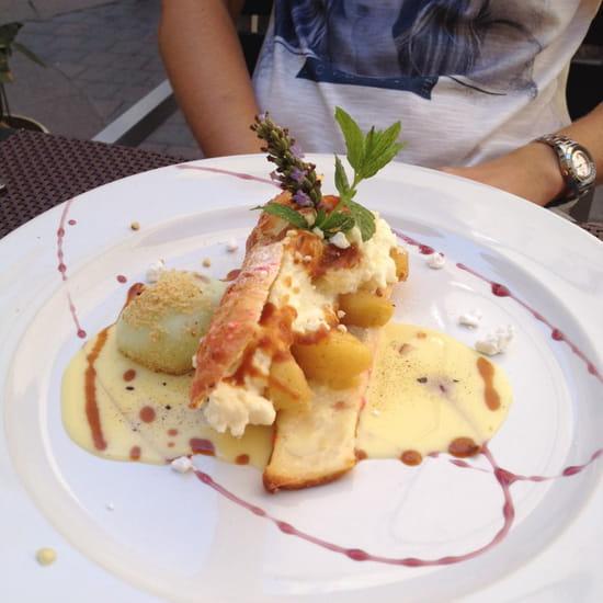 , Dessert : L'Entre Temps Restaurant  - Croustillant du verger -