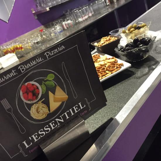 , Restaurant : L'Essentiel  - Restaurant, Brasserie, Pizzeria -