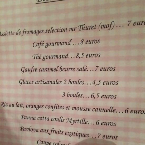 , Dessert : L'Estanquet