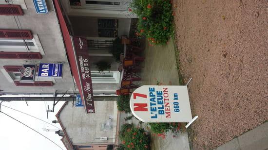 , Restaurant : L'Etape Bleue