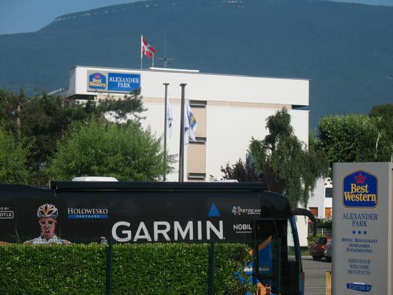 L'Evencio - Best Western Alexander Park ***  - L'hotel BestWestern Alexander park *** accueille 4 équipes sur le Tour de France 2010 -   © alexanderpark chambery savoie france