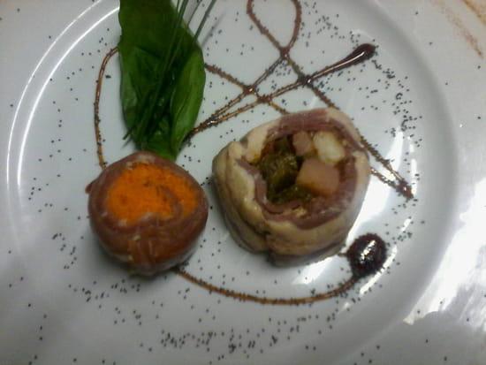 , Entrée : L'Excellence  - Spirale de foie gras remoulade de céleri -