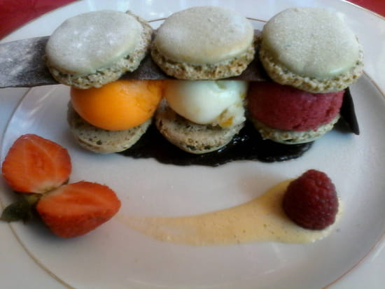 , Dessert : L'Excellence  - Macarons glaces -