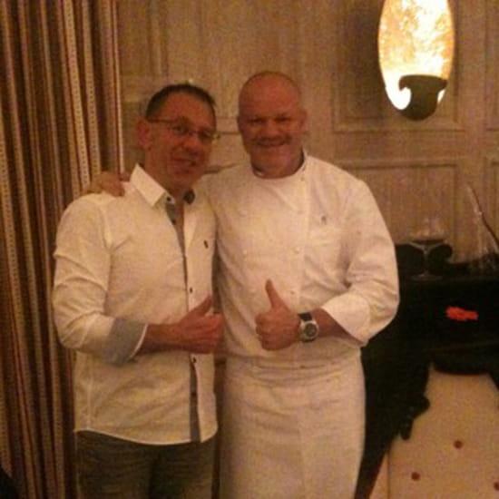 , Restaurant : L'Hostellerie de Plaisance  - Un mec super bonard ce chef -