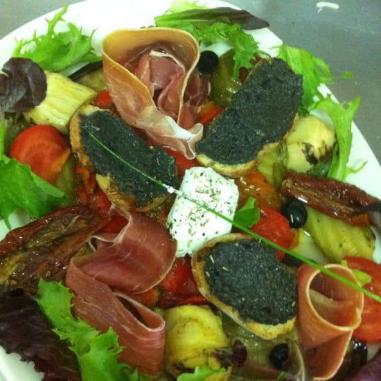 , Entrée : L'Olive  - Assiette provençale  -