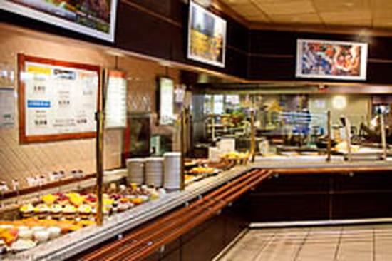 L'Ondine Cafétéria  - buffet -   © a. Le Corre