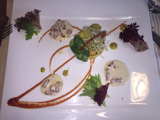 , Entrée : L'Orchidée - Restaurant de l'hôtel Aloé