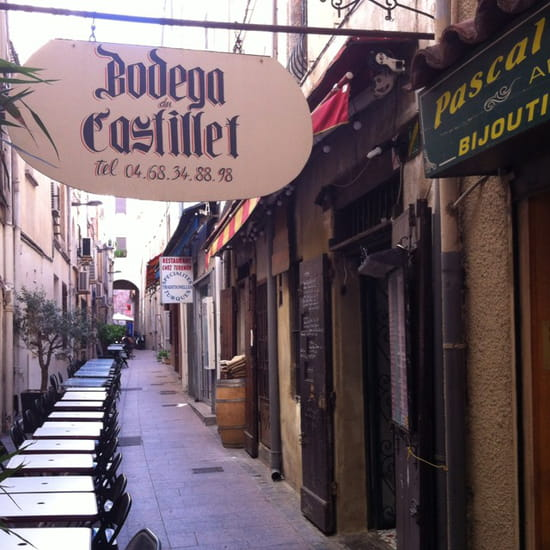 , Entrée : La Bodega du Castillet