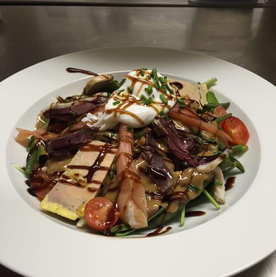 , Plat : La bonne chaise  - Salade folle -