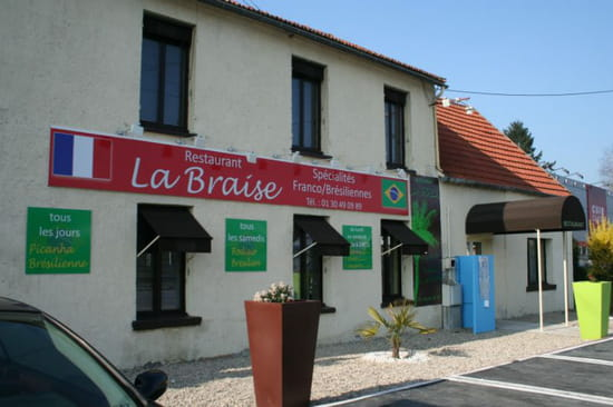 La Braise  - Façade du restaurant -