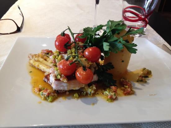 , Plat : La cantine du 7  - Cabillaud légumes -